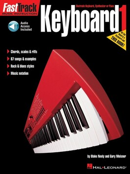 Fasttrack Keyboard Method Book and Online Access