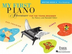 My First Piano Adventures Writing Book