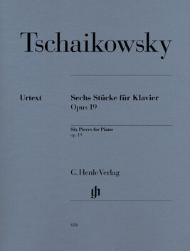 Six Piano Pieces op. 19 - P.I. Tchaikowsky - CLEARANCE - was $45.95