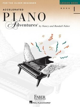 Accelerated Piano Adventures Lesson Book