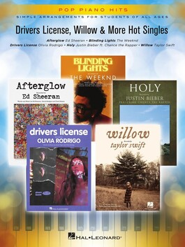 Pop Piano Hits - Driver's License, Willow and More