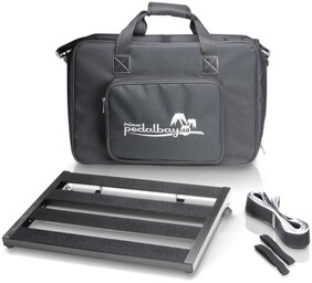 Palmer Pedalbay 40 Pedalboard w/Bag and Accessories