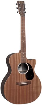 Martin Grand Performance Acoustic/Electric Guitar w/Cutaway. With Padded Bag