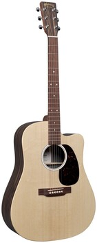 Martin DCX2E Dreadnought Sized Acoustic/Electric Guitar w/Cutaway and Bag