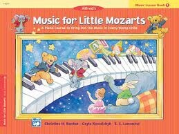 Music for Little Mozarts Lesson Book