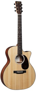 Martin GPC11E Grand Performance Sized Acoustic/Electric Guitar w/Cutaway and Soft Shell Case