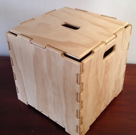 Stacking Cube with Lid