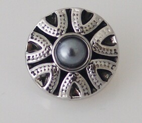 Small Top - Silver with blue pearlescent