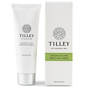 Tilley Hand & Nail Cream - Coconut & Lime