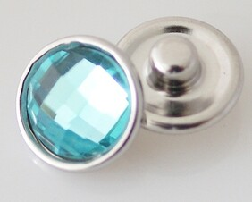 Small Top - Turquoise Faceted