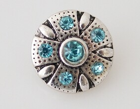 Small Top - Turquoise/Silver