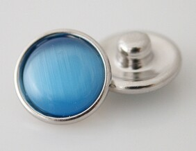 Small Top - Blue/Turquoise Cats Eye