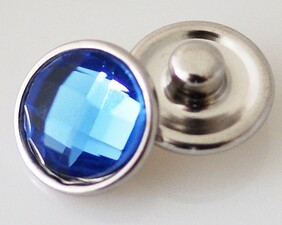 Small Top - Dark Blue Faceted