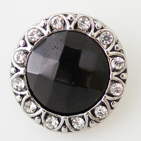 Large Top - Black/Bling Faceted