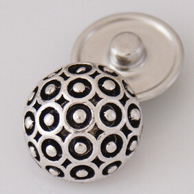 Large Top - Black/Silver Dome