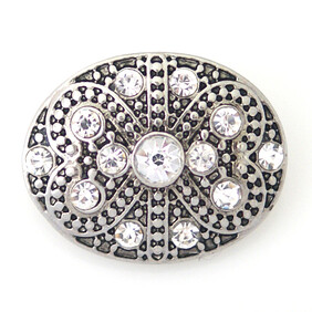 Large Top - Dainty Oval with bling