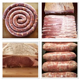 W1 - Charcuterie Class - The Breakfast Club - Bacon & Sausages