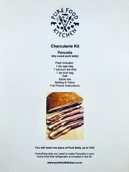 K1. Charcuterie Kit - Pancetta (Dry Cured Pork Belly)