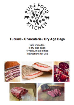 2. Tublin® - Charcuterie / Dry Age Bags 250mm x 350mm