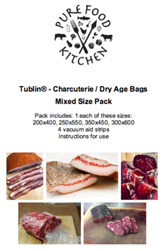 6. Tublin® - Charcuterie / Dry Age Bags - Mixed Pack