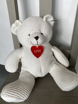 Knitted Love Ted - Large