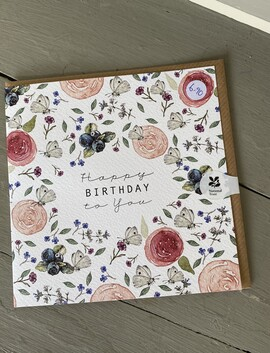 A Happy Birthday Sweet blooms