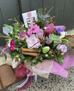 A Beautiful Boxed Bouquet