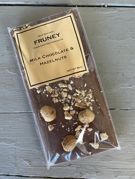 Fruney - Milk Chocolate Hazelnut Tablet