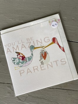 Card - You'll be amazing parents