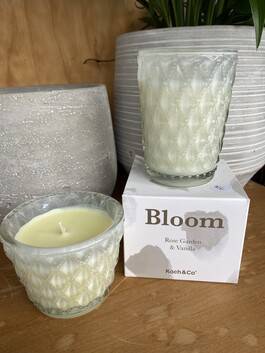 Bloom Candle - Rose and Vanilla