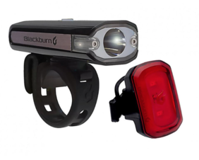 Blackburn Central 200 Front + Rear Light combo USB rechargeable (20% off)