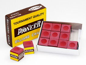 Pioneer Chalk x 12 Cubes - Red