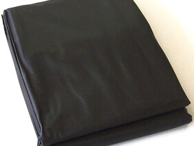 8ft Table Cover - Black