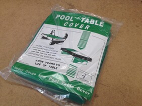 7ft Table Cover - Green