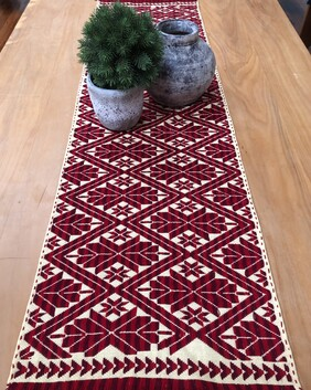 Table runner - hand woven from Puebla