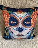 Cushion - Halloween / Day of the Dead painted face