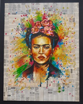 Frida Hermosa - for collection only