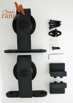 Classic Top Mounted Parts for a Double/Bi-Parting Door