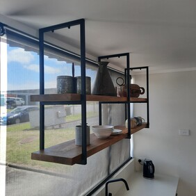 Seconds - Ladder Style Shelf Bracket 300mm (3 Sizes and 3 Colours)