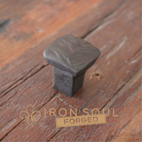 Iron Soul Forged Railway Nail Cabinet Pull