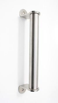 Pipe Handle - Stainless Steel - 214mm
