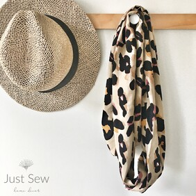 Abstract Tones Infinity Scarf