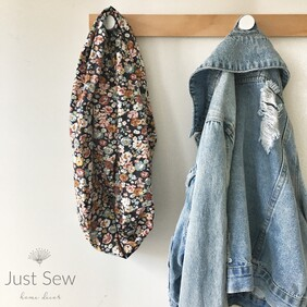 Autumn Floral Infinity Scarf