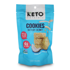 Keto Cookies Buttery Coconut 64g