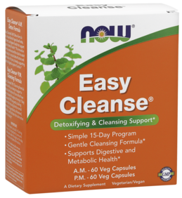 Easy Cleanse - Detoxifying and Cleansing Support 2 Bottles 60VC