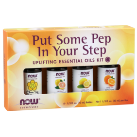 Put Some Pep in Your Step - Essential Oils Kit