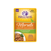 Wellness Healthy Indulgence Morsels With Chicken & Turkey in Savory Sauce