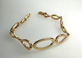 9ct Yellow Gold Bracelet - SOLD