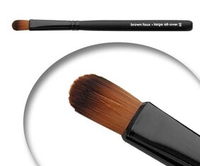 B&W BRUSHES VEGAN BRUSHES BFF060 LARGE ALL OVER
