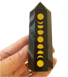 Obsidian Moon Phase Tower
